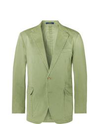 Blazer verde de Polo Ralph Lauren