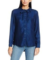 Blusa azul marino de Esprit