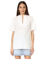 Blusa blanca de Acne Studios