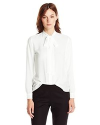 Blusa blanca de French Connection