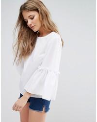 Blusa blanca de Miss Selfridge