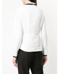 Blusa de Botones Blanca y Negra de GUILD PRIME