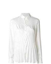 Blusa de botones blanca de Maison Margiela