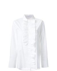 Blusa de botones blanca de Marni