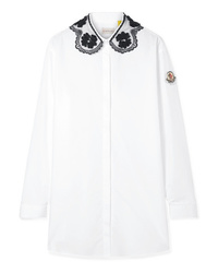 Blusa de botones blanca de Moncler Genius