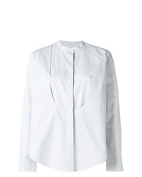 Blusa de Botones Celeste de Maison Rabih Kayrouz
