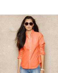 Blusa de botones naranja original 4299707