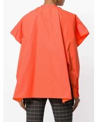 Blusa de Botones Naranja de Ports 1961