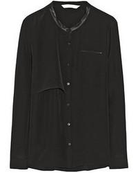 Blusa de botones negra original 4299539