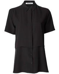 Blusa de botones negra de Alexander Wang