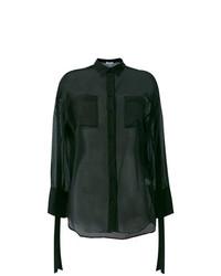 Blusa de Botones Negra de IRO