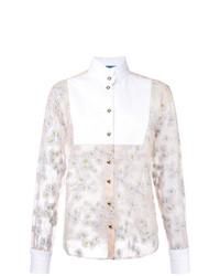 Blusa de botones rosada de Macgraw