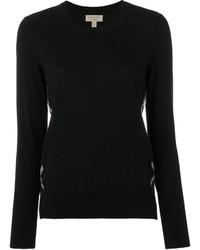 Blusa de lana negra de Burberry