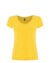 Blusa de manga corta amarilla de Lygia & Nanny