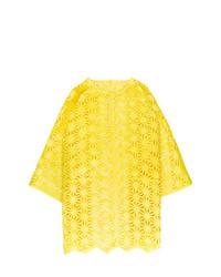 Blusa de manga corta amarilla de Paskal