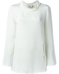 Blusa de manga larga blanca de 3.1 Phillip Lim
