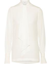 Blusa de manga larga blanca de Givenchy