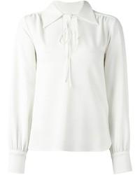 Blusa de manga larga blanca de See by Chloe