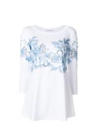 Blusa de manga larga bordada blanca de Ermanno Scervino