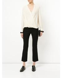 Blusa de manga larga en beige de Rag & Bone