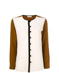 Blusa de manga larga en multicolor de Etro