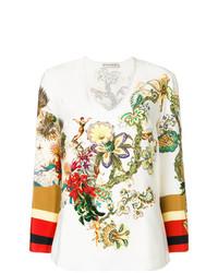 Blusa de manga larga estampada en multicolor de Etro