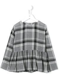 Blusa de manga larga gris de Il Gufo