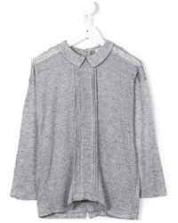 Blusa de manga larga gris de Morley