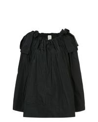Blusa de manga larga negra de Maison Rabih Kayrouz