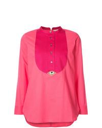 Blusa de manga larga rosa de Figue