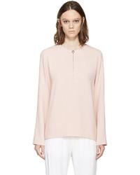 Blusa de manga larga rosada de Stella McCartney