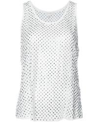 Blusa de seda blanca de Marc Jacobs