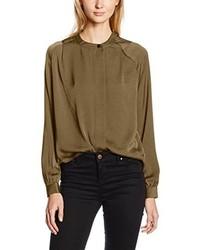 Blusa marrón de Vero Moda