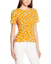 Blusa naranja de Dorothy Perkins