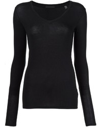 Blusa negra de ATM Anthony Thomas Melillo
