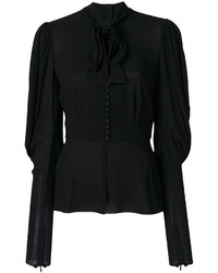 Blusa negra de Dolce & Gabbana