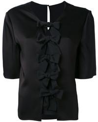 Blusa negra de Fendi