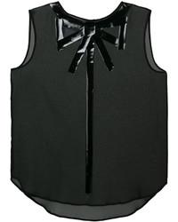 Blusa negra de Moschino