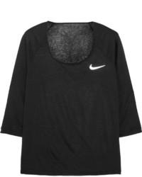 Blusa negra de Nike