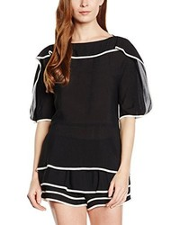Blusa Negra de See by Chloe
