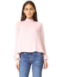 Blusa rosada de Rebecca Minkoff