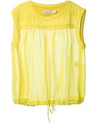 Blusa sin mangas amarilla de See by Chloe