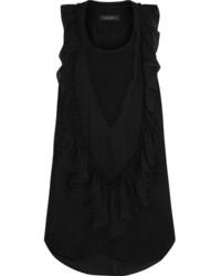 Blusa sin mangas de gasa negra de Isabel Marant