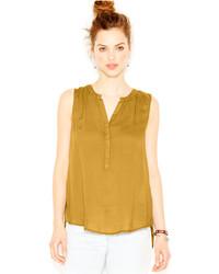 1b20b1da201f0 Cómo combinar una blusa sin mangas mostaza (17 looks de moda)