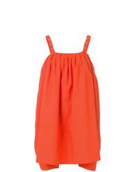 Blusa sin mangas naranja de Hache