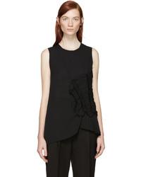 Blusa sin mangas negra de 3.1 Phillip Lim
