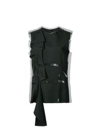 Blusa sin mangas negra de Maison Margiela