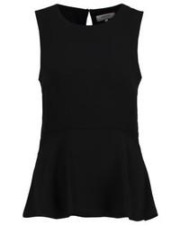Blusa sin mangas negra de Zalando Essentials