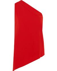 Blusa sin mangas roja de Maison Margiela