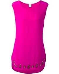 Blusa sin mangas rosa